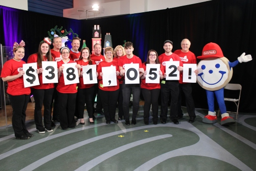 We raised $381,052 for children's hospitals this year!