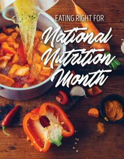 Eating Right for National Nutrition Month